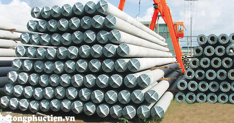 Cọc bê tông ly tâm được sản xuất theo tiêu chuẩn TCVN 7888:2008